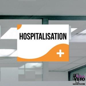 PANNEAU HOSPITALISATION...