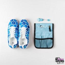 Pack Pochette Bleue/USB...