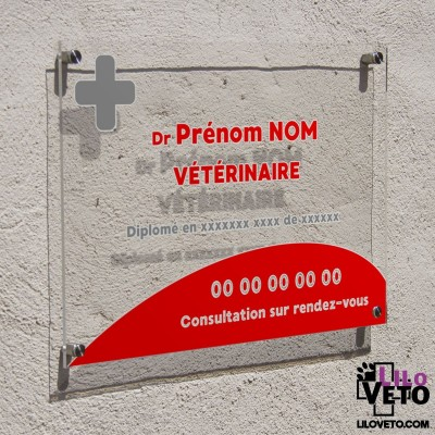 Plaque transparente Dr...