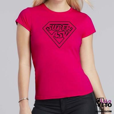 T-SHIRT SUPER ASV FEMME
