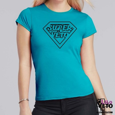 T-SHIRT SUPER VETO FEMME