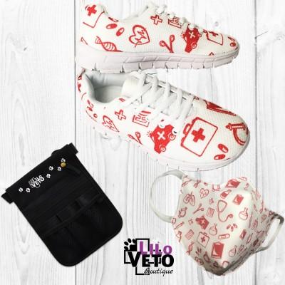 Pack Masque/Pochette/Basket...
